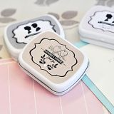Shabby Chic Personalized Mint Tins Wedding Favors