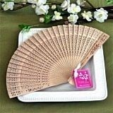 Gorgeously-Scented Sandalwood Fan Summer or Spring Favor