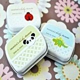 Delightful Baby Animal Faces Personalized Mint Tins
