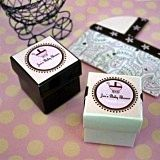 Fashionable Square Baby Shower Labels (Set of 20)