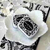 Retro Chic Damask Personalized Mint Tins
