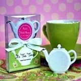 Time for Tea! Teapot-Shaped Personalized Tape Measures
