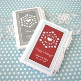 Beautiful Snowflakes Personalized Notebooks