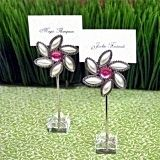 A Gorgeous Bloom Flower-Shaped Placecard Holders (Set of 12)