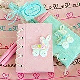 Charming Personalized Baby Carriage Notebooks