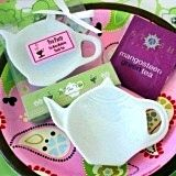 Adorable Personalized Porcelain Teapot-Shaped Candy Dish