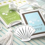 Superb Seashell-Shaped Bookmark with Personalized Folder