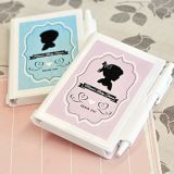 Vintage Personalized Baby Shower Notebooks