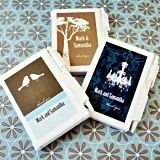 Charming Artistic Design Personalized Travel-Sized Notebooks