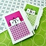 Stylish Monogrammed Notebooks with a Modern Twist