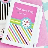 Sweet Shoppe Design Personalized Notebooks