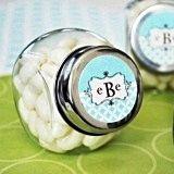 Modern Design Monogrammed Candy Jars