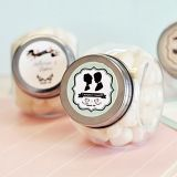 Shabby Chic Personalized Candy Jars
