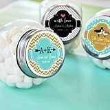 Match Your Theme Personalized Vintage Candy Jars