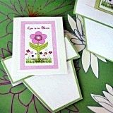 Eco-Friendly Flowers Abloom Personalized Seed Packets