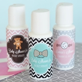 Event Blossom Personalized Baby Shower Designs Sunscreen Bottles