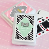 Event Blossom Darling Baby Shower Personalized Playing Cards