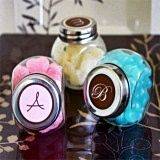 Classic Monogrammed Candy Jars with a Modern Twist