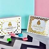 Personalized Metallic Foil Gum Boxes