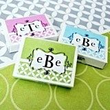 Classic Monogrammed Gumboxes with a Modern Twist