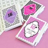 Stylish Quinceañera/Sweet 16 Personalized Notebook