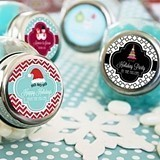 Winter Break Personalized Small Candy Jars