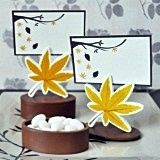 Fall Leaf Favor Boxes/Placecard Holders (Set of 12)