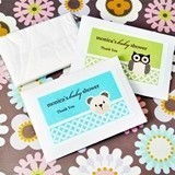 Adorable Baby Animals Personalized Tissue Boxes