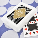 Marking A Milestone Personalized Graduation Playing Cards