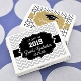 Marking a Milestone Personalized Graduation Gum Boxes