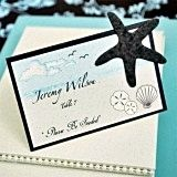 Beach-Themed Starfish-Design Plantable Seed Placecards (Set of 12)