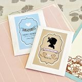 Vintage Personalized Baby Shower Seed Packets