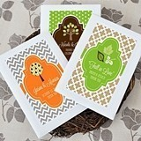 Love of Fall Personalized Packaged Wildflower Seeds
