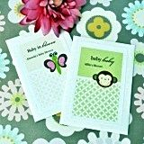 Delightful Baby Animals Personalized Seed Packets