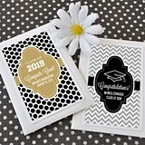 Personalized Hats Off to You Graduation Celebration Seed Packets