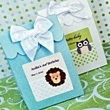 Adorable Baby Animals Personalized Goody Bags (Set of 12)