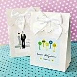 Artistic Design Baby Shower Personalized Goody Bags (Set of 12)