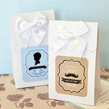 Vintage Design Baby Shower Personalized Goody Bags (Set of 12)