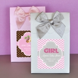 Shimmery Baby Shower Personalized Goody Bags (Set of 12)
