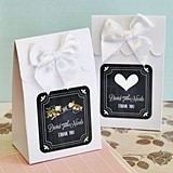 Chalkboard Wedding Personalized Goody Bags (Set of 12)
