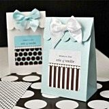 Dots and Stripes Personalized Goody Bags (Set of 12)