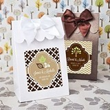 Stylish Autumn-Themed Personalized Goody Bags (Set of 12)