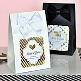 Personalized Metallic Foil Goody Bags (Set of 12)