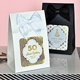 Personalized Metallic Foil Birthday Goody Bags (Set of 12)