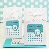 Something Blue Personalized Goody Bags (Set of 12)
