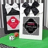 Playful Vegas-Themed Goody Bags (Set of 12)