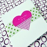 Pure Love Heart-Shaped Personalized Stickers