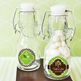 Falling For You Personalized Little Glass Bottles