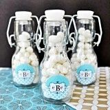 Mod Monogram Personalized Miniature Glass Bottles