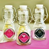 Match Your Theme Personalized Miniature Glass Bottles